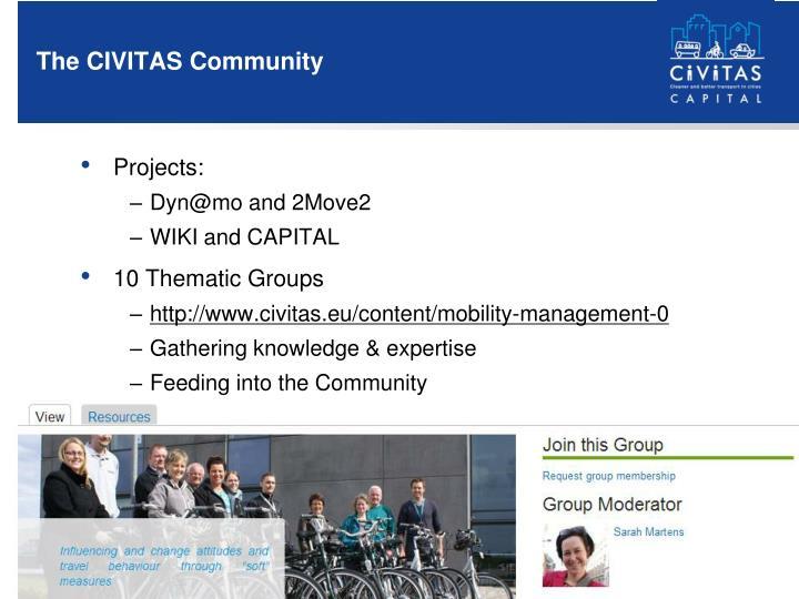 The CIVITAS Community