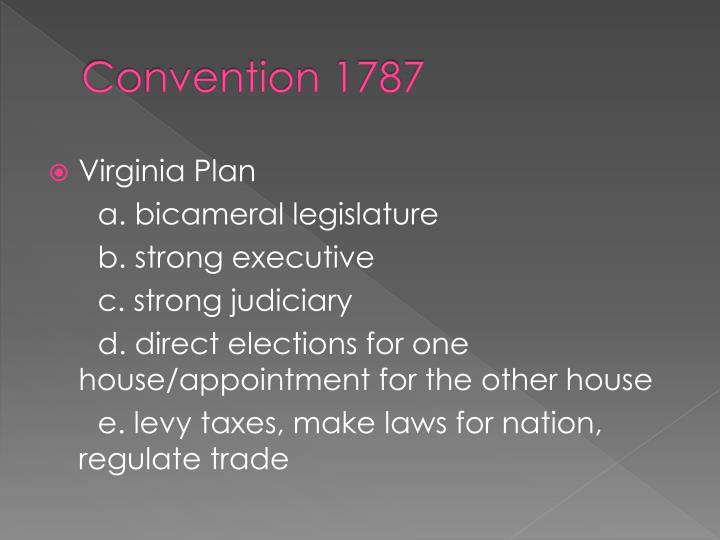 Convention 1787