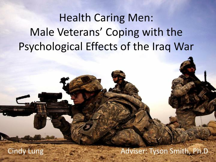 health caring men male veterans coping with the psychological effects of the iraq war n.