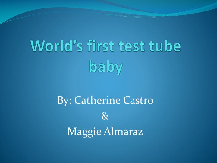world s first test tube baby n.