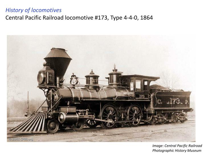 History of locomotives