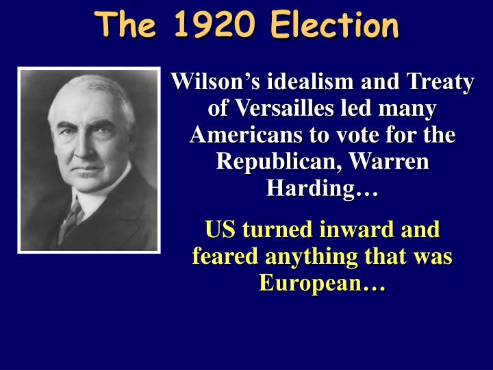 The 1920 Election