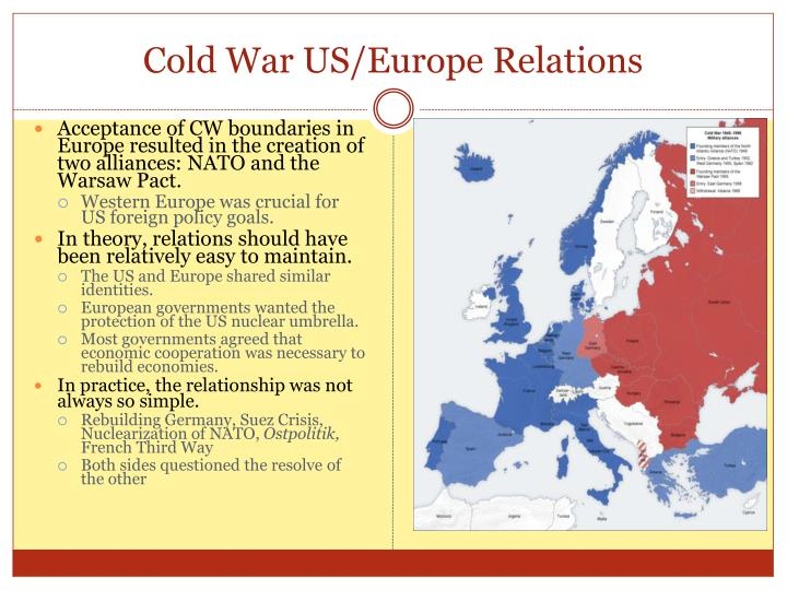 cold war impact us foriegn policy Historical analysis of the cold war  american foreign policy became one of containment as it  new deal economics felt the greatest impact of the cold war.