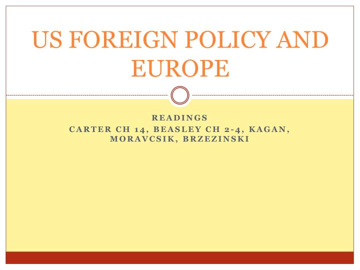 us foreign policy and europe n.