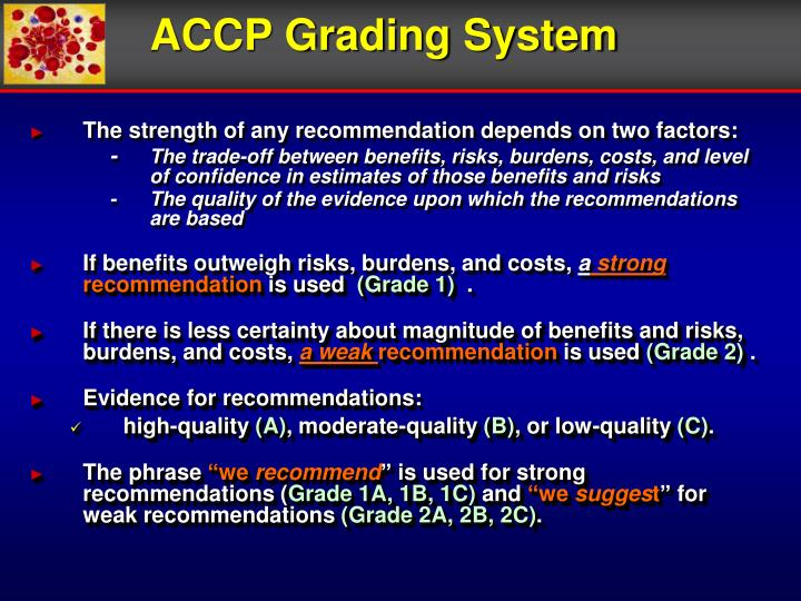 ACCP Grading System