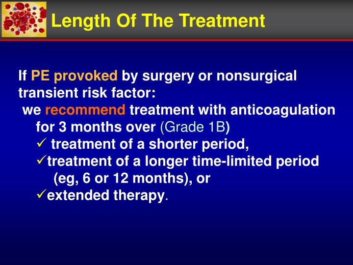 Length Of The Treatment