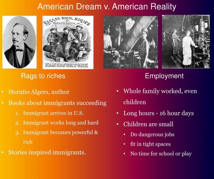 American Dream v. American Reality