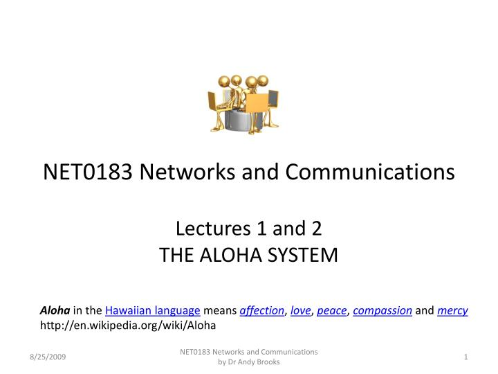 net0183 networks and communications n.