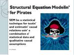 structural equation modelin fer pirates1