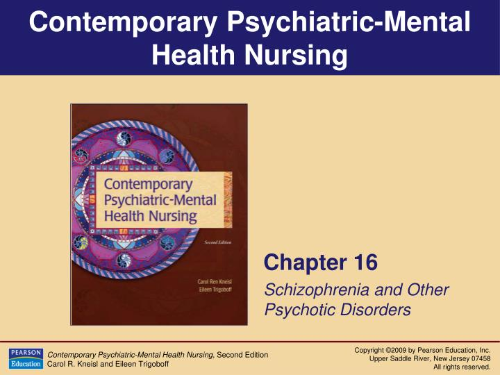 chapter 16 schizophrenia and other psychotic disorders n.