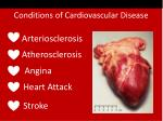 conditions of cardiovascular disease