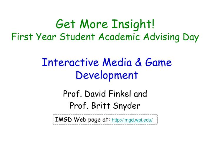 get more insight first year student academic advising day n.