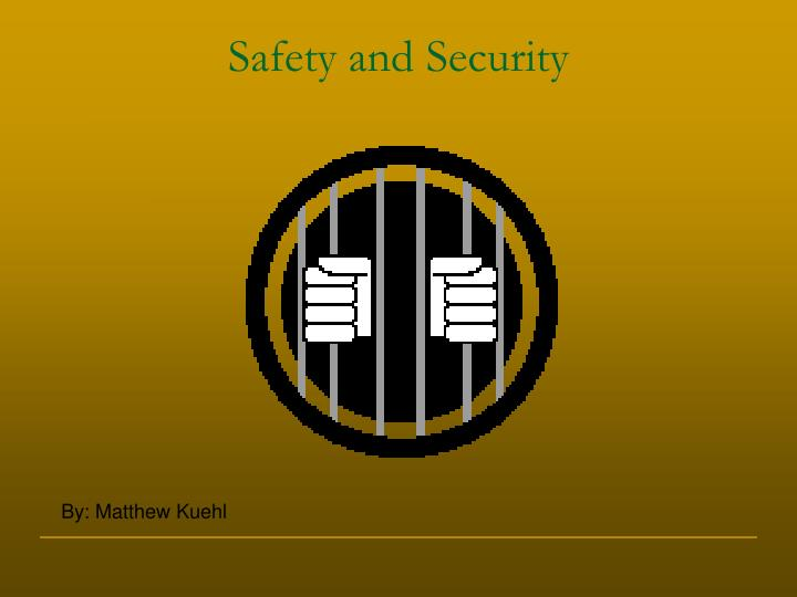 safety and security n.