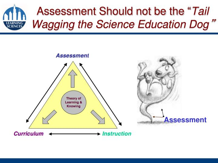 Assessment Should not be the