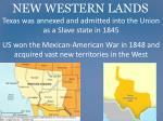 new western lands