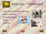 exercise movement