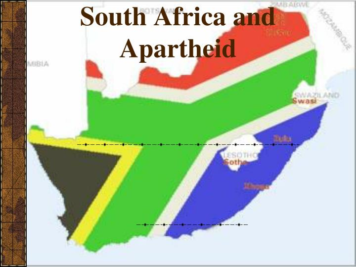south africa and apartheid n.