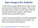 knee surgery for arthritis1