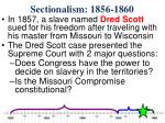 sectionalism 1856 1860