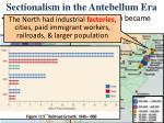 sectionalism in the antebellum era1
