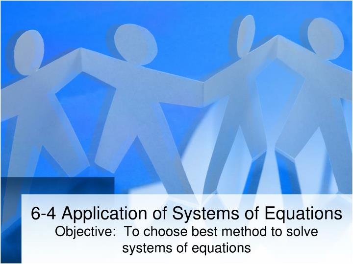 6 4 application of systems of equations n.