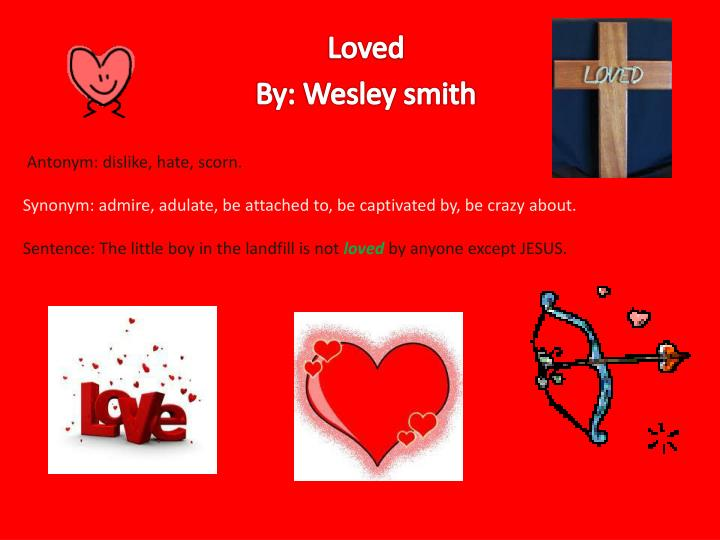 loved by wesley smith n.