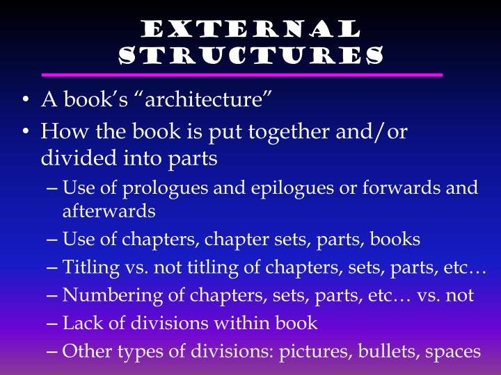 External Structures