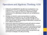 operations and algebraic thinking 4 oa
