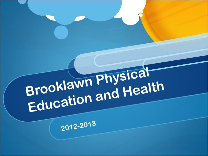 brooklawn physical education and health n.