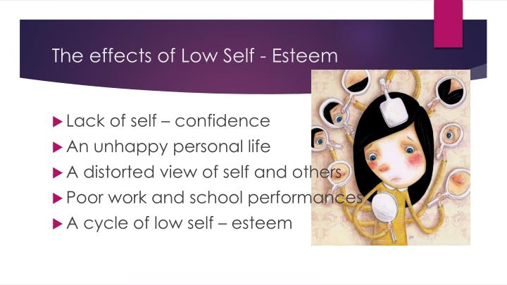 the medias effect on self esteem Low self-esteem in adolescents can lead to eating disorders, early sexual activity, substance use and suicidal thoughts you can post encouraging notes in your school bathrooms to brighten your classmates' day.