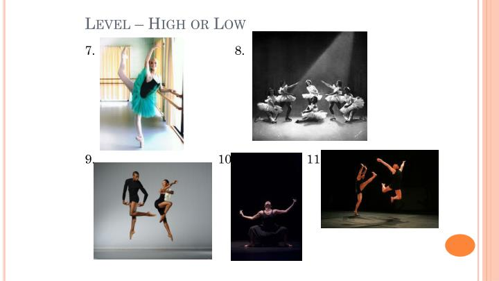 Level – High or Low