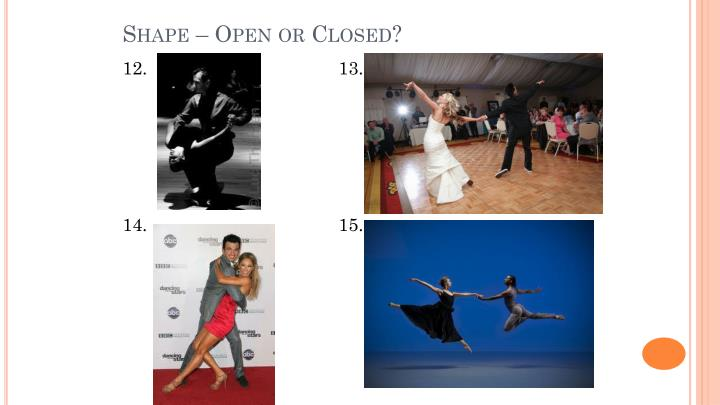 Shape – Open or Closed?