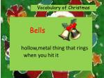 bells hollow metal thing that rings when you hit it