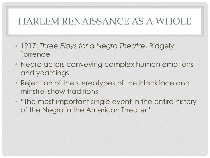 harlem rennisance essay The harlem renaissance essay 1513 words | 7 pages the harlem renaissance chapter 1 introduction harlem renaissance, an african american cultural movement of the 1920s and early 1930s that was centered in.
