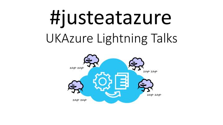 ukazure lightning talks n.