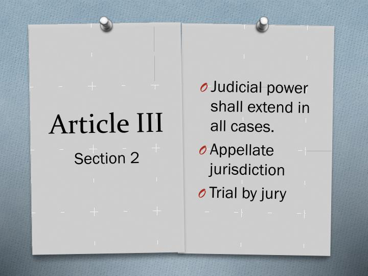 Judicial power shall extend in all cases.