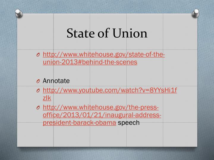 State of Union