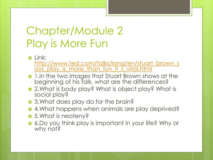Chapter/Module 2