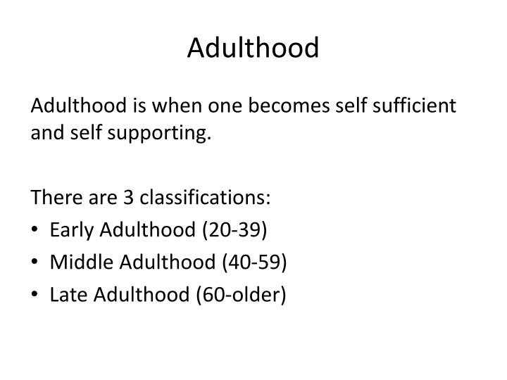 late adulthood development questionnaire interview Identity development in adolescence and adulthood summary and keywords psychoanalyst erik erikson was the first professional to describe and use the concept of ego identity in his writings on what constitutes healthy personality development for every individual over the course of the life span.