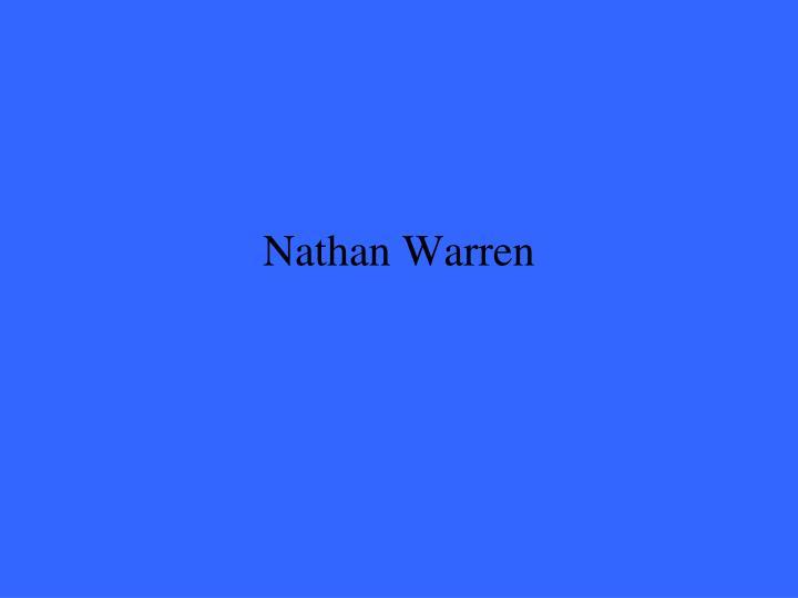 Nathan Warren
