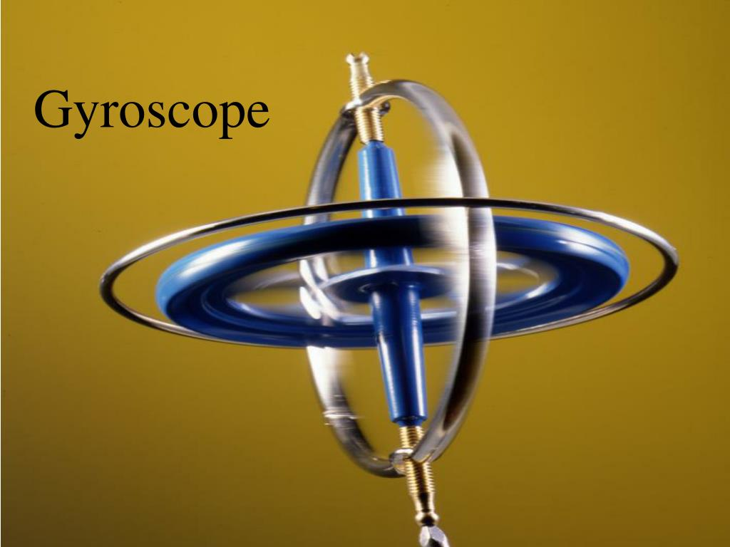 Stainless steel gyroscope, product in kind, metal mechanical.