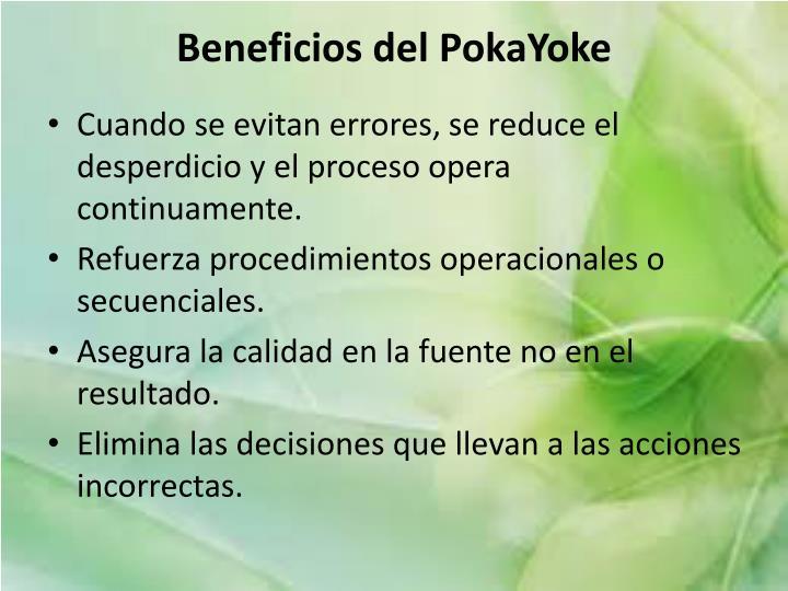 Beneficios del