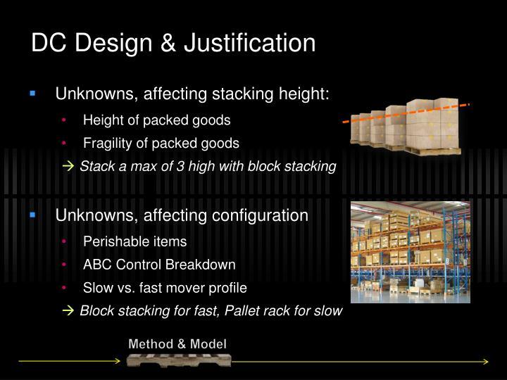 DC Design & Justification