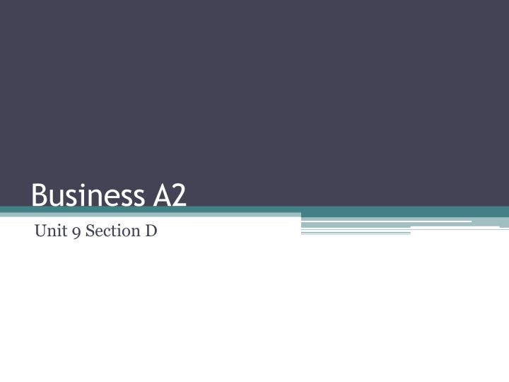 business a2 n.