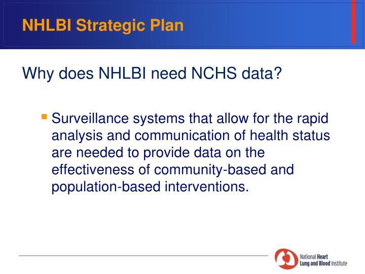 Nhlbi strategic plan