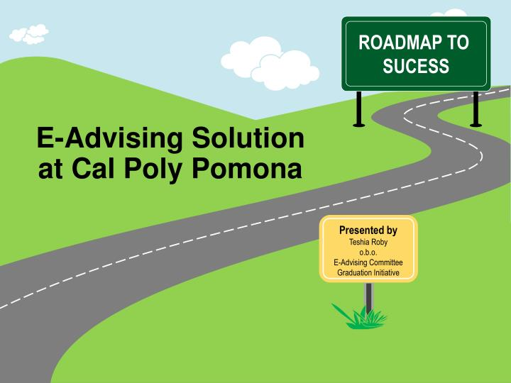 e advising solution at cal poly pomona n.
