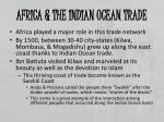 africa the indian ocean trade