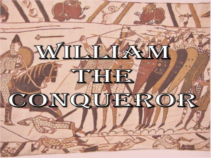 william the conqueror n.