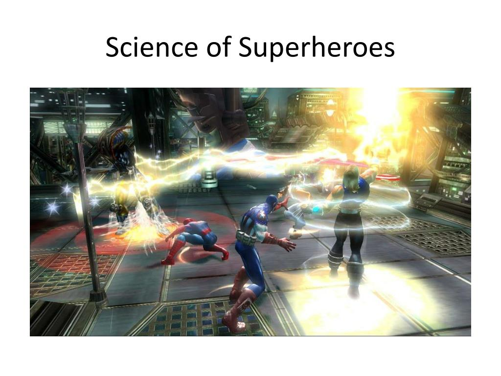 ppt science of superheroes powerpoint presentation id 2443092