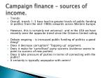 campaign finance sources of income5